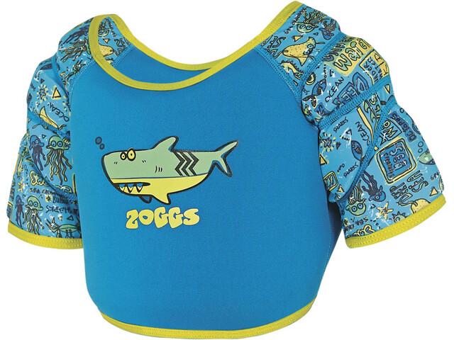 Zoggs Deep Sea Water Wing Swim Vest Kids Blue